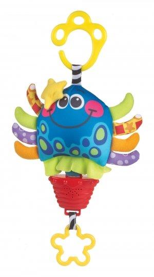 Playgro Музикална бебешка играчка Октопод 0426